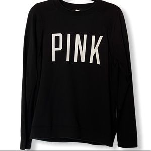 NiCE! PiNk by Victoria Secret Black Sweatshirt! 🌸